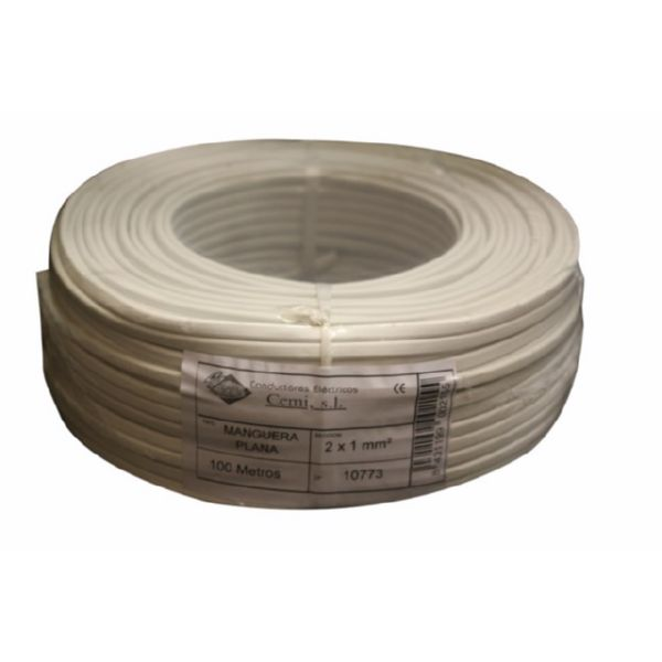 CABLE ELEC 2X1MM 100 MT MANG CEMI BL PLANO MP2010.0 C-109400