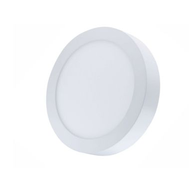 FOCO DOWNLIGHT LED 20W 6000K-BL SUP. RDO SILVER ELECT.
