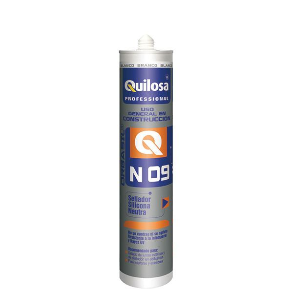 SILICONA NEUTRA CONST. 300 ML TR. INT/EXT ORBASIL N-09 QUILOSA