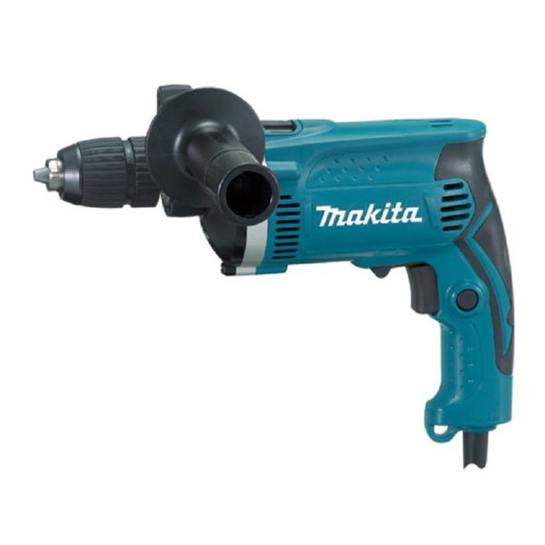 TALADRO PERCUTOR 710W 13MM S/LLAVE + MALETIN HP01631K MAKITA